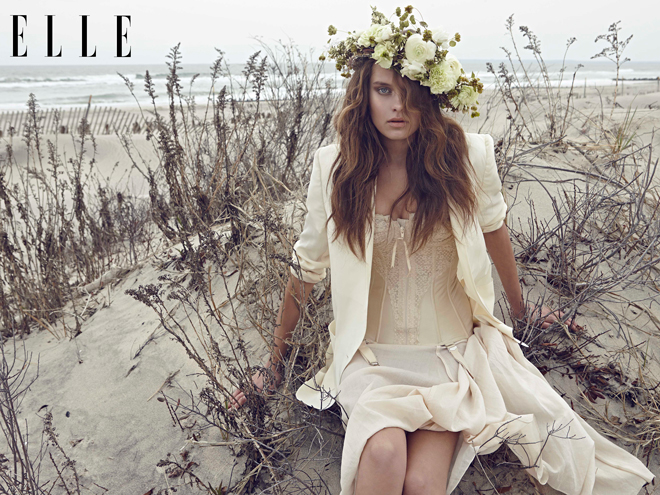 Bộ ảnh thời trang Nụ hoa trắng