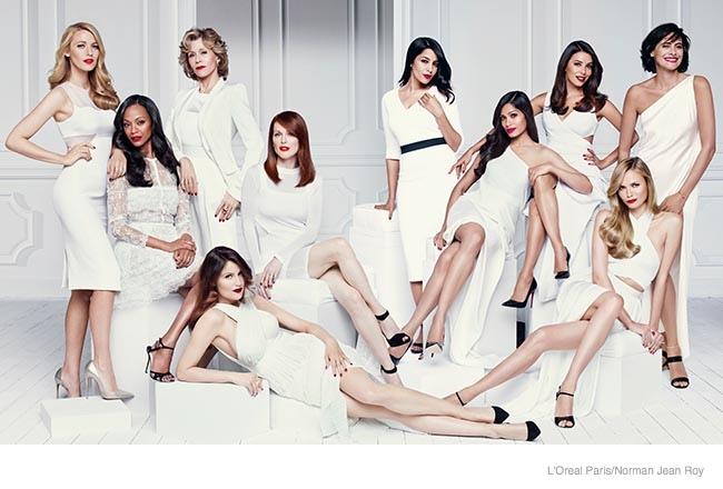 Dàn đại sứ của L'Oreal Paris cùng xuất hiện trong chiến dịch quảng bá L'Oreal Beauties