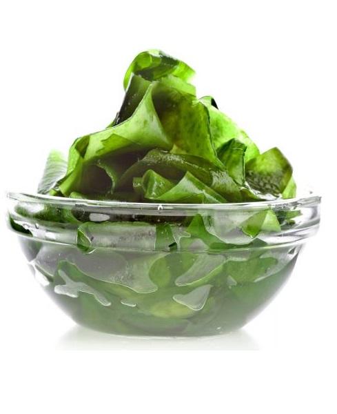 3. Thức ănchứa Hyaluronic acid. <br/>Hyaluronic acid là thành phần cần thiết để liên kết các sợi collagen. Hyaluronic acid giúp sửa chữa và thay thế các sợi collagen bị hư hỏng và chết.  Tảo bẹ là nguồn dồi dào hyaluronic acid trong các loại thực phẩm chứa hyaluronic acid, như rong biển.