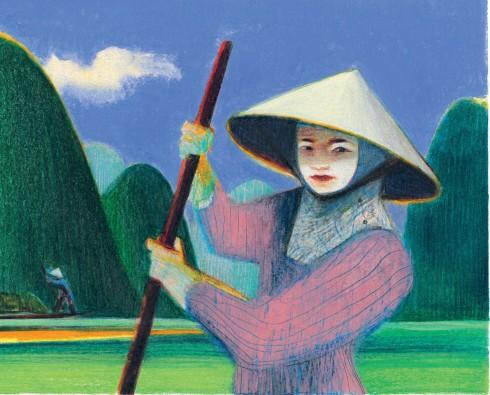 Ảnh trong cuốn Travel Book về thiên nhiên và con người Việt Nam