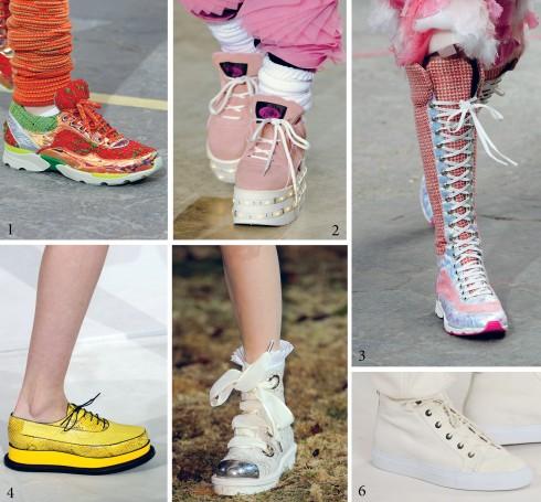 1.Chanel 2.Ashish 3.Chanel 4.Jil Sander 5.Alexander McQueen 6.Ralph Lauren