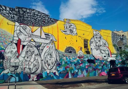 Các tác phẩm nghệ thuật đường phố đáng ngưỡng mộ