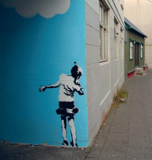 Nghệ thuật vẽ tranh trên tường graffiti