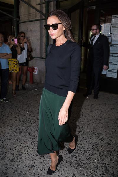 Victoria Beckham tại Tuần lễ Thời trang New York (7/9)