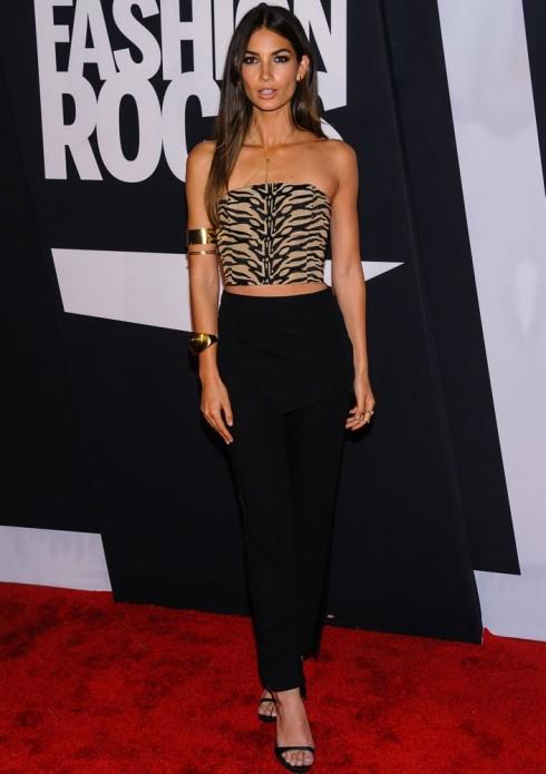 Người mẫu Lily Aldridge tại Fashion Rocks