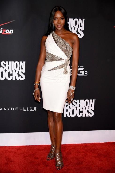 Siêu mẫu Naomi Campbell tại Fashion Rocks