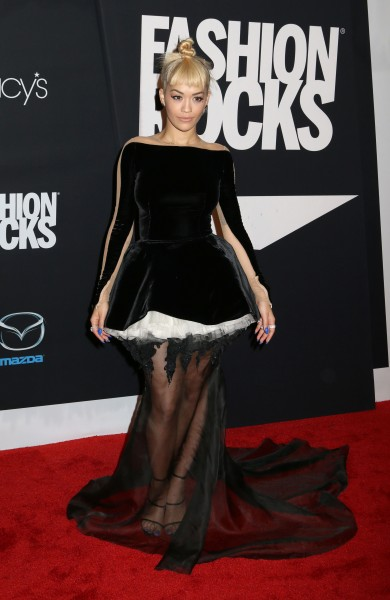 Ca sĩ Rita Ora tại Fashion Rocks