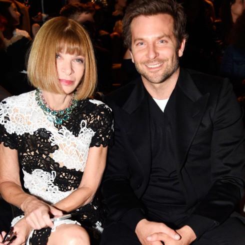 Anna Wintour & diễn viên Bradley Cooper tại buổi diễn Tom Ford