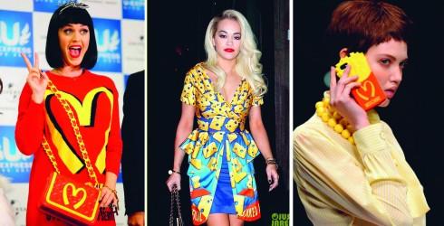 Từ trái qua: Katy Perry, Rita Ora, Chiếc vỏ iPhone nổi tiếng