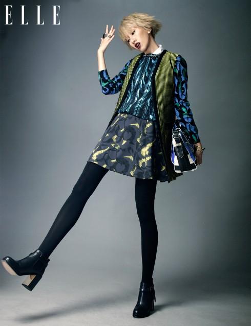 Trang phục, túi xách Kenzo, Giày Topshop