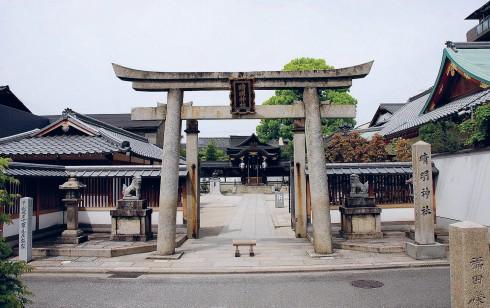 Cửa trước của ngôi đền Seimei nổi tiếng