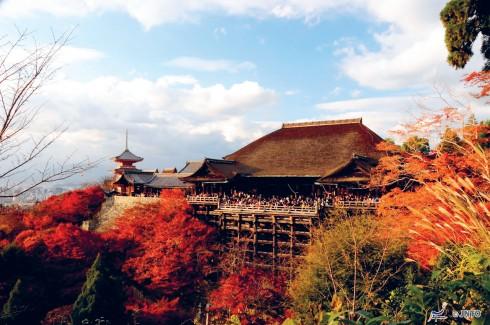 Đền Kifune cổ kính nằm trên ngọn núi phía Bắc Kyoto