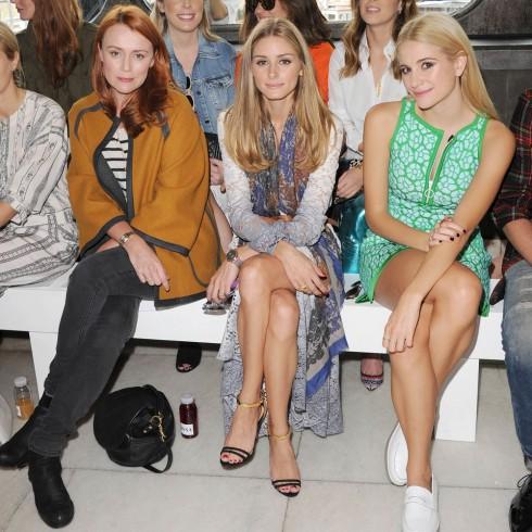 Keeley Hawes, Olivia Palermo & Pixie Lott