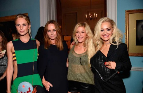 Poppy Delevingne, Stella McCartney, Ellie Goulding & Rita Ora chúc mừng BST mới của Stella McCartney