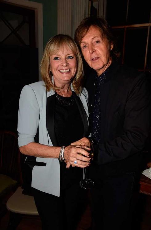 Siêu mẫu huyền thoại Twiggy & Paul McCartney