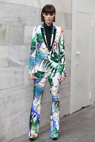 Sao nổi bật tại Tuần lễ Thời trang Milan Xuân Hè 2015