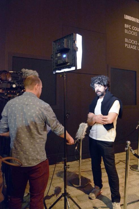 NTK Lucas Nascimento trả lời phỏng vấn sau show diễn của mình