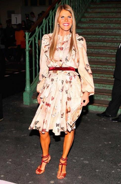 Biên tập viên đình đám Anna Dello Russo tại show Givenchy