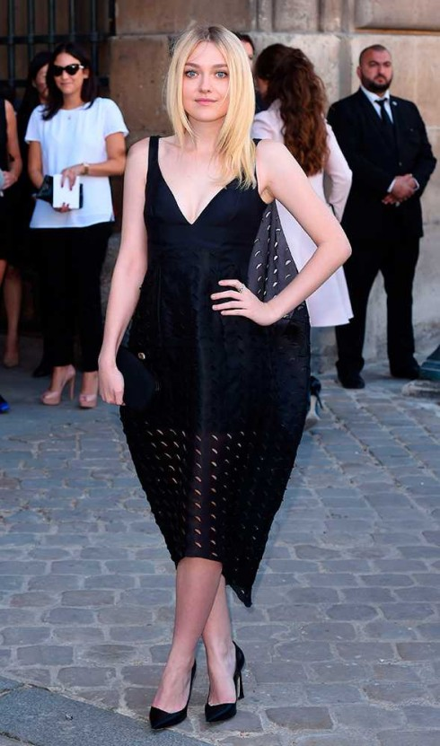 Dakota Fanning tại show Christian Dior