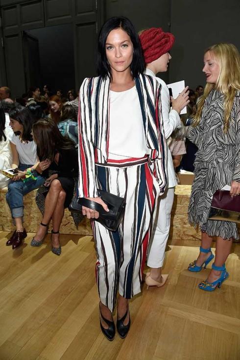 Người mẫu Leigh Lezark tại show Chloé