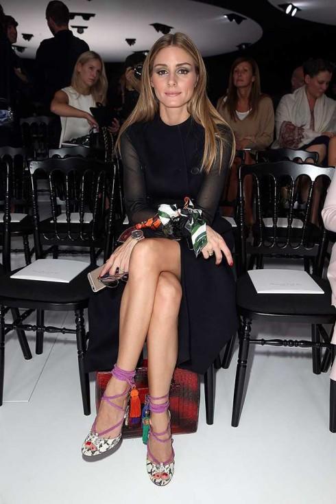 Olivia Palermo tại show Christian Dior