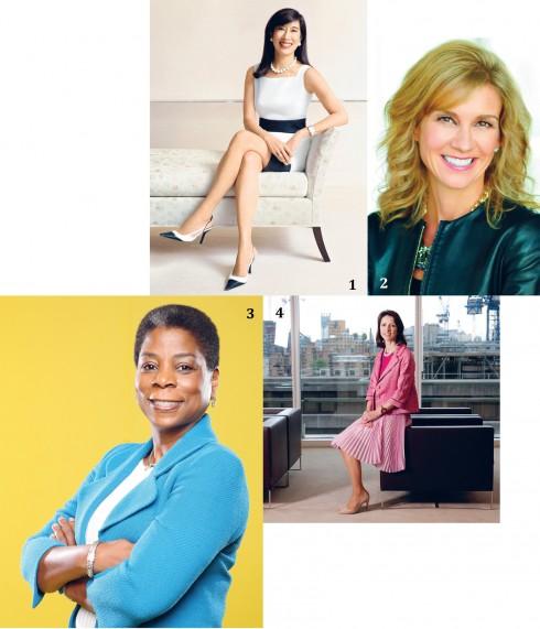 1. Andrea Jung (cựu CEO của Avon): Dậy lúc 5h sáng để tập gym và bắt đầu công việc lúc 8h sáng. 2. Michelle Gass (cựu chủ tịch Starbucks khu vực châu Âu và Trung Đông): Dậy vào lúc 4h30 sáng để chạy bộ trong suốt hơn 15 năm qua. 3. Ursula Burns (CEO của công ty Xerox): Dậy vào lúc 5h15 và việc đầu tiên cô làm là kiểm tra email, sau đó tập thể dục từ 6h sáng. 4. Helena Morrissey (CEO của Newton Investment): Dậy lúc 5h sáng, thỉnh thoảng sớm hơn và cô bắt đầu gửi email cho đến khi lũ trẻ tỉnh dậy.