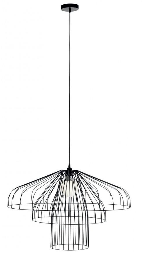 """Đèn treo """"thả dù"""" <br/>Đó là cách dịch phóng khoáng cho tên sản phẩm Parachute Pendant. Nhà thiết kế Nathan Yong đã đưa tài năng của mình thăng hoa với mẫu đèn được làm từ ba vật liệu đơn giản: dây thép, bóng đèn và dây điện. Điều đặc biệt của chiếc đèn mang hình dáng chiếc dù này là việc người ta có thể mua riêng thêm dây thép và tạo nên một chiếc dù lớn hơn, hoặc kết nối các đèn nhỏ với nhau thành một hệ thống. Chiếc đèn khi bật không chỉ mang lại ánh sáng dễ chịu cho căn nhà, mà phần bóng đổ của các sợi thép cũng tạo ra hiệu ứng thú vị."""