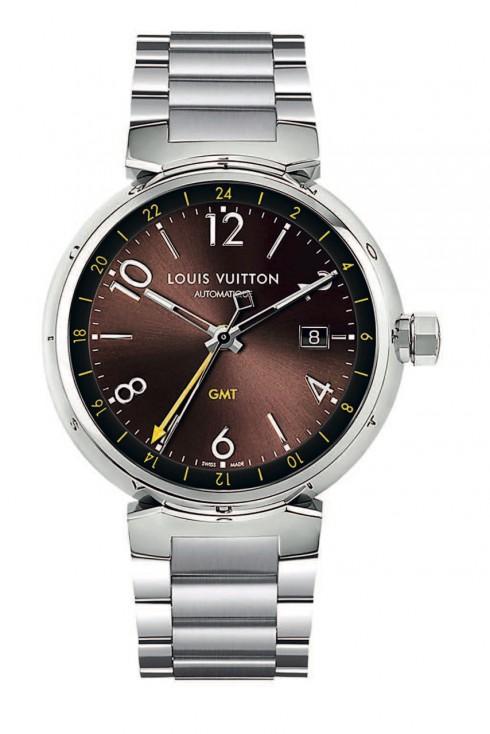 LOUIS VUITTON TAMBOUR ESSENTIAL BROWN GMT dành cho những người am hiểu thời trang và thích nổi bật.