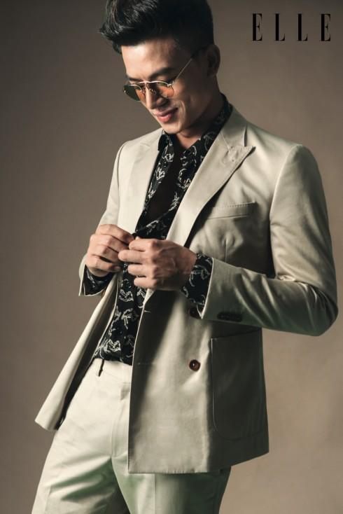 Áo sơmi SAINT LAURENT Suit, Quần HUGO BOSS