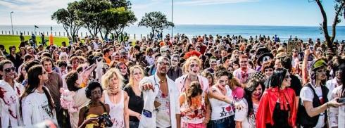 Lễ diễu hành thây ma sống lại Zombie Walk tại Cape Town