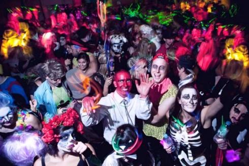Màu sắc và không khí ma quái tràn ngập các quán bar, pub của London trong mùa hội Halloween