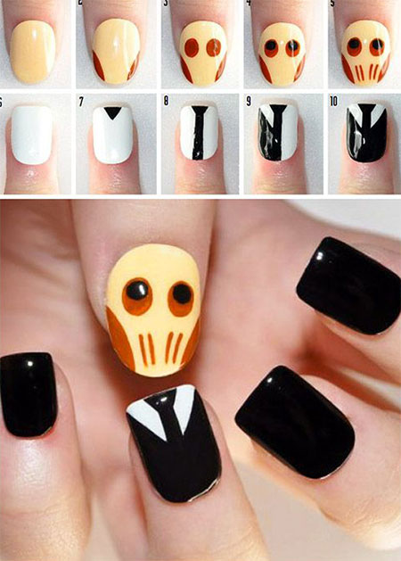 12-Easy-Step-By-Step-Halloween-Nail-Art-Tutorials-For-Beginners-Learners-2014-5