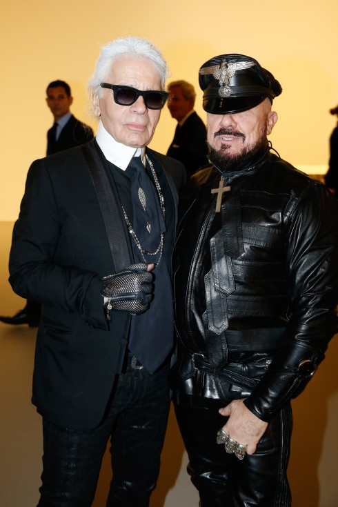Karl Lagerfeld cùng Petter Marino