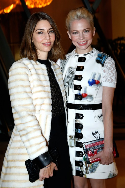 Sofia Coppola và Michelle Williams