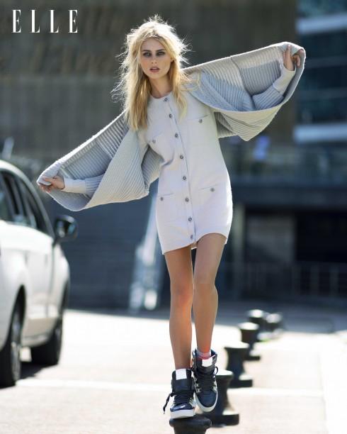 Áo cardigan len Max Mara, Váy mini cashmere Chanel