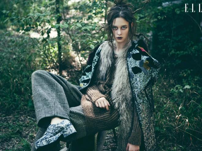 Bộ ảnh thời trang Khu rừng huyền bí