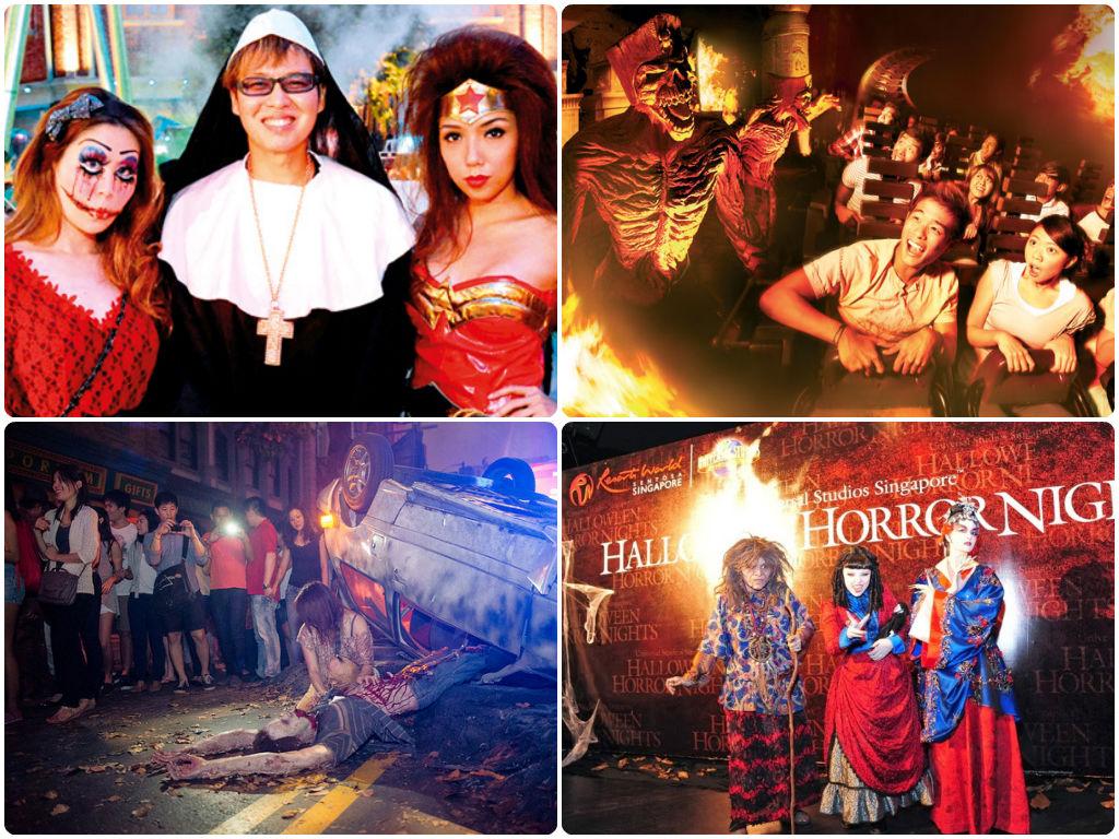 Sự kiện Halloween Horror Nights đã diễn ra từ năm 2011 với hàng loạt các hoạt động ca múa, diễn kịch, khám phá, chơi các trò đua xe, vận động nhuốm đầy màu sắc ma quái.