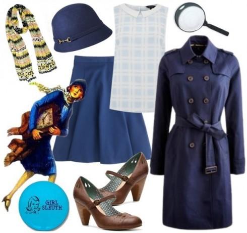 Nữ thám tử yêu màu xanh