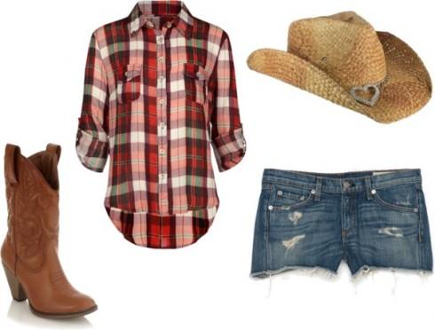 Phong cách Cowgirl
