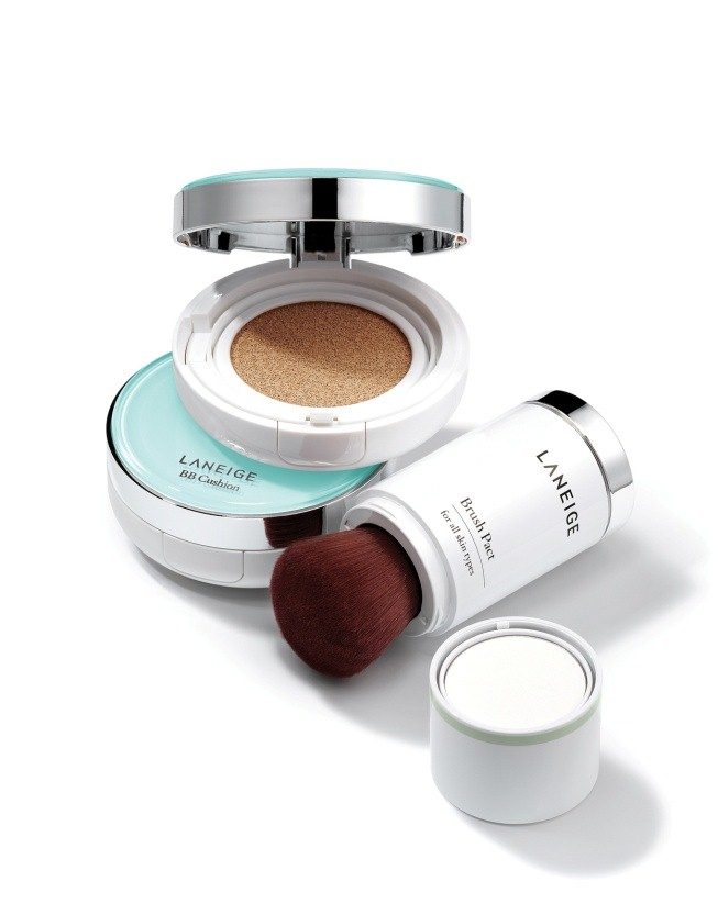 Phấn BB Cushion Pore Control và Bush Pact