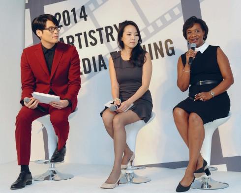 Diễn viên Daniel Choi và đại diện của Artistry trong một buổi trò chuyện về nghệ thuật và vị thế của phụ nữ hiện đại