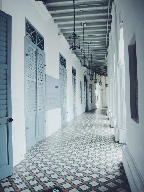 Không gian tuyệt đẹp tại Bảo tàng Nghệ thuật Singapore