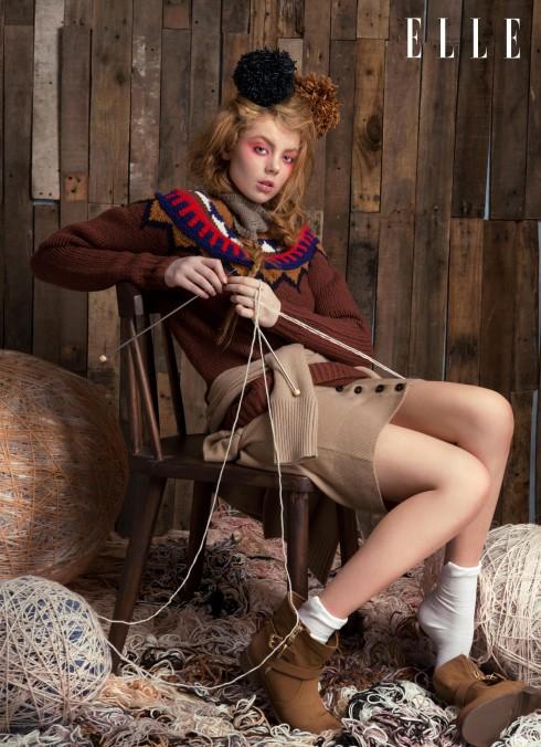 Áo len Burberry, Cổ len Oasis, Giày Aldo