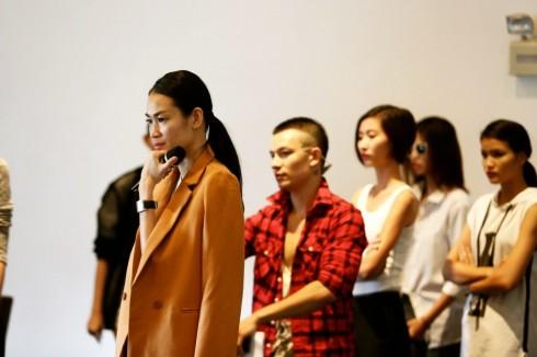 Chỉ đạo catwalk Trương Thanh Trúc