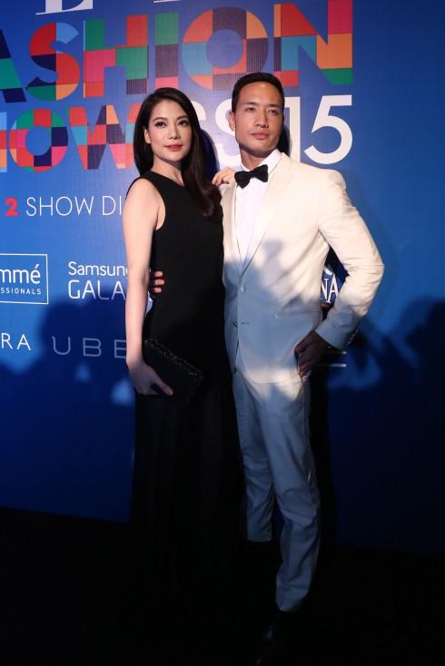 Cặp đôi phim Hương Ga - Diễn viên Trương Ngọc Ánh và diễn viên Kim Lý đang có mặt tại EFS