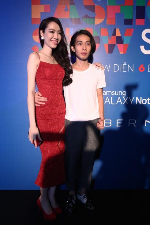 Nhà thiết kế Lưu Ngọc Kim Khanh và nhà thiết kế Nguyễn Hoàng Tú