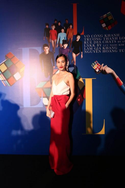 Người mẫu Trương Thanh Trúc