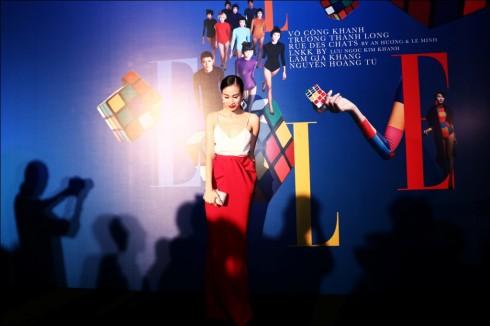 Chỉ đạo catwalk, người mẫu Trương Thanh Trúc