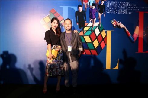 Giám đốc sản xuất Hà Mi và Đạo diễn nghệ thuật Dzũng Yoko