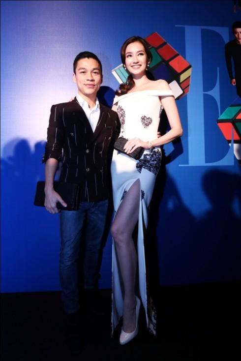 Trúc Diễm và Adrian Anh Tuấn